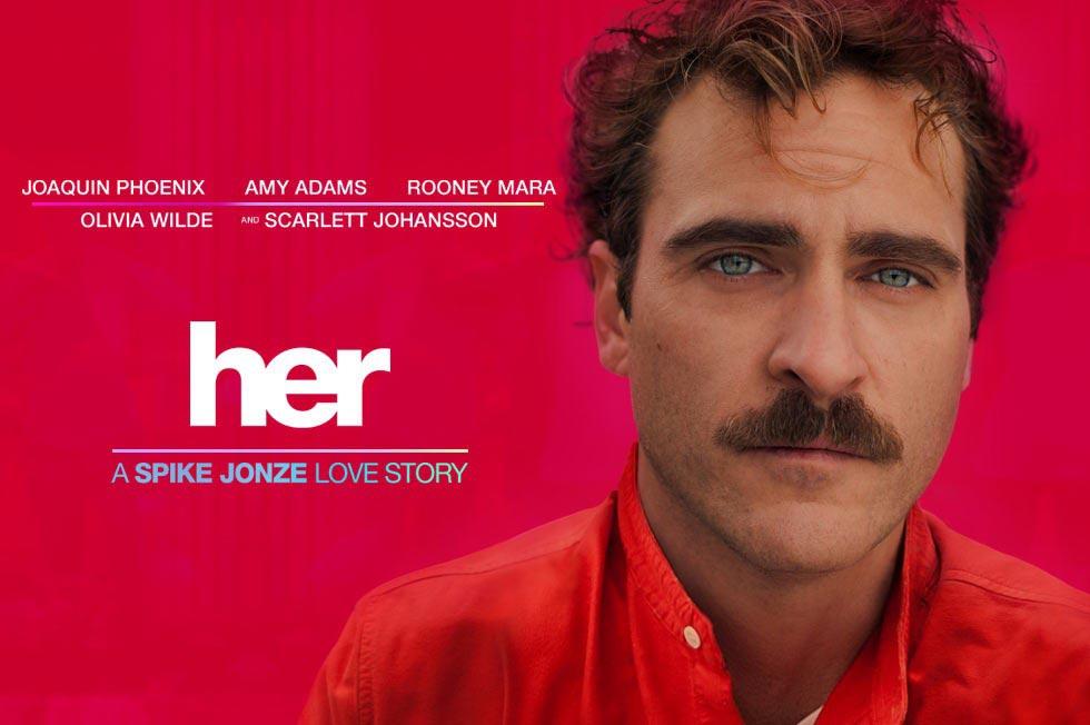 فیلم her,پوستر