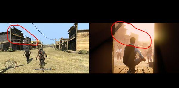 گزارش: کل نقشه Red Dead Redemption در دنیای قسمت دوم وجود دارد