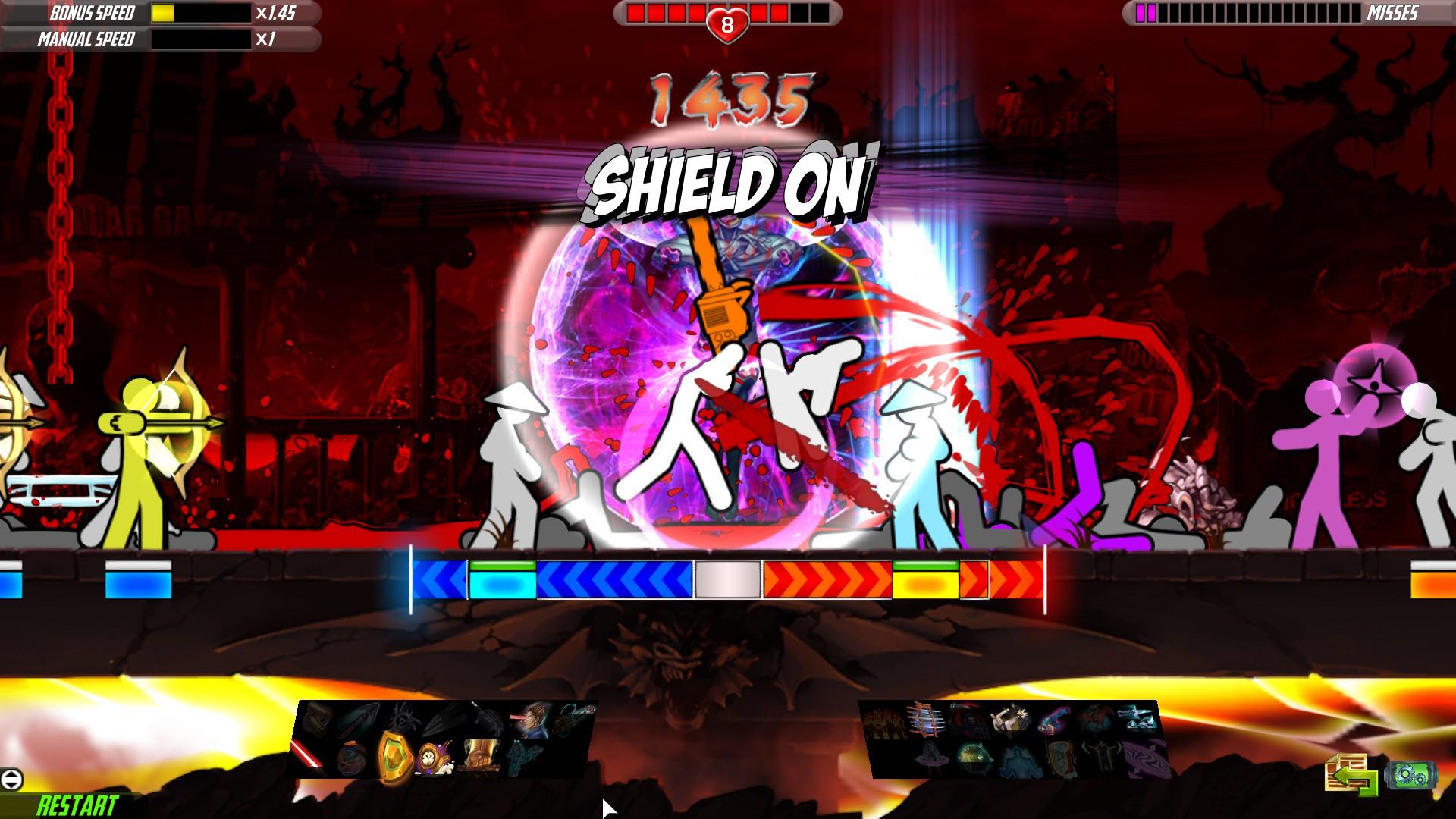 نقد و بررسی بازی One Finger Death Punch 2