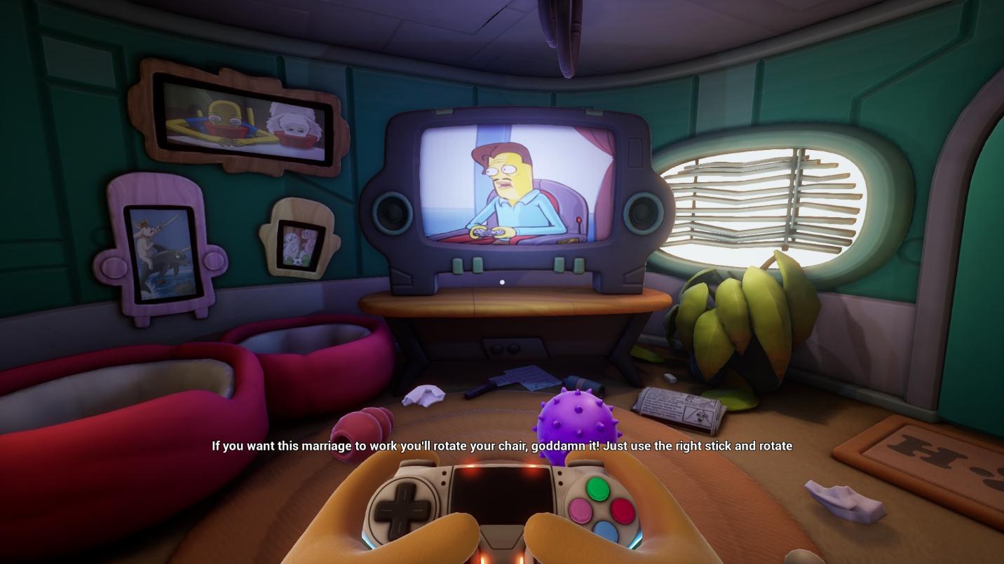 نقد و بررسی بازی Trover Saves the Universe
