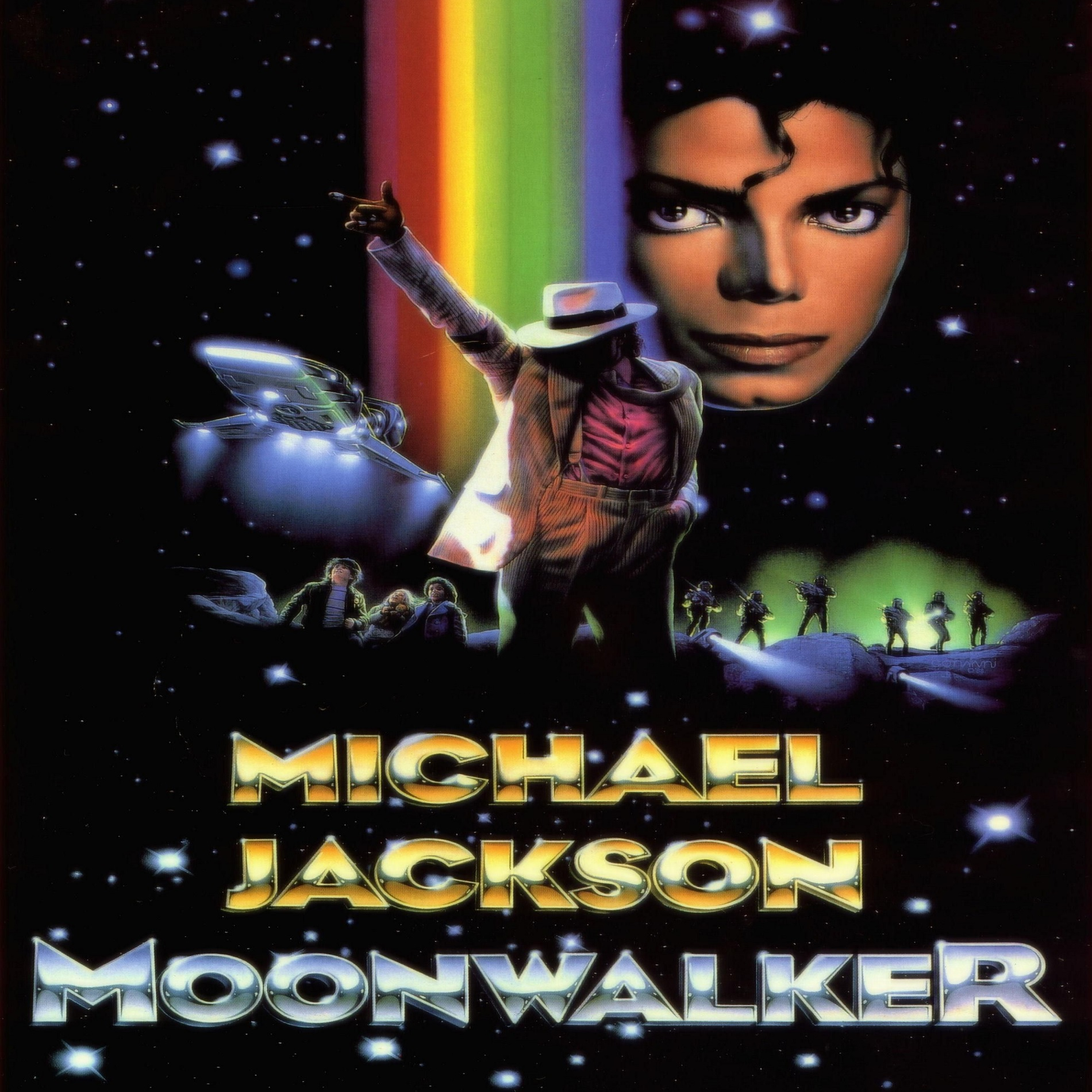 دانلود موسیقی متن بازی Michael Jackson's Moonwalker