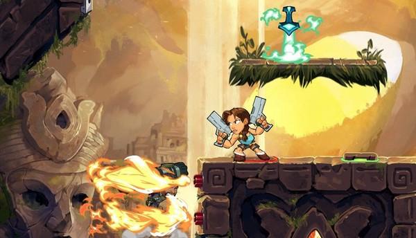 لارا کرافت (Lara Croft) شخصیت اصلی Tomb Raider، ساخته استودیو Crystal Dynamics به عنوان یک cross over به بازی Brawlhalla میآید . . .
