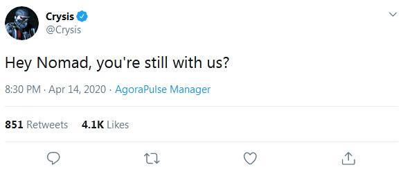 درحال دریافت اطلاعات؛ بازگشت Crysis در نسل نهم؟! [بروزرسانی شد]