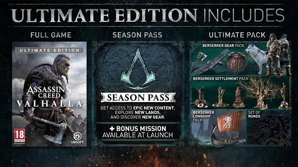 Ubisoft امروز از ویژگیهای مخلتف انواع نسخههای Assassin's Creed Valhalla رونمایی کرد . . .
