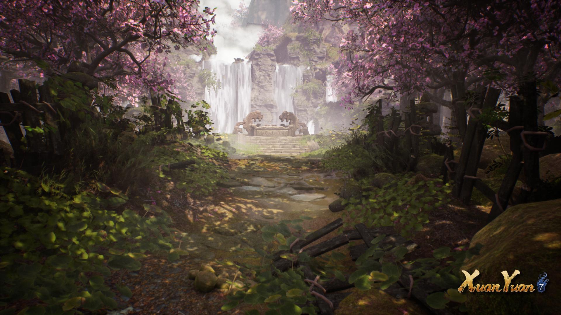 سرزمین شکوفههای هلو