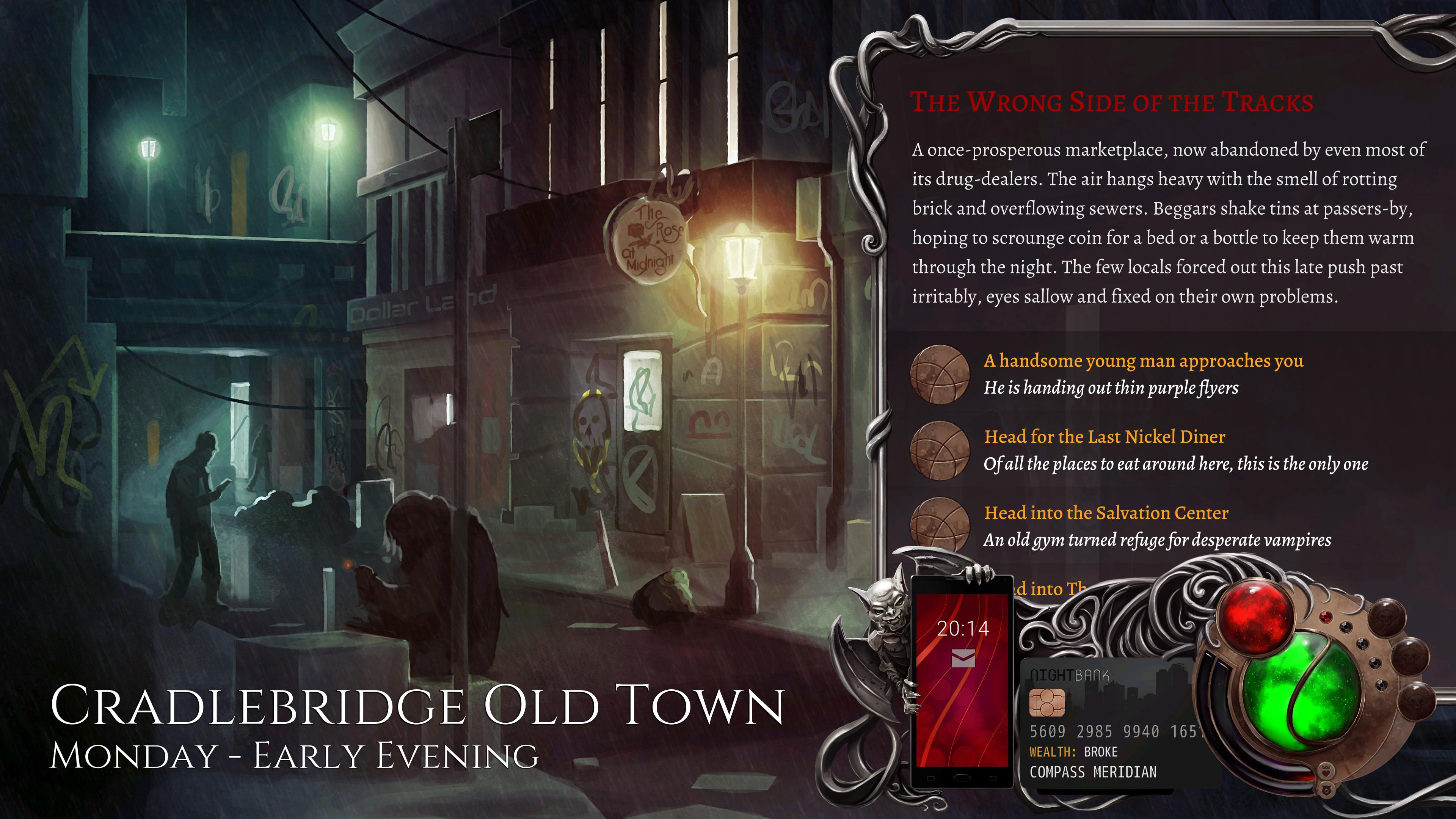 تصاویر و تیزر جدیدی از عنوان Nighthawks: The Vampire RPG منتشر شدند؛ شب را از آن خود کنید