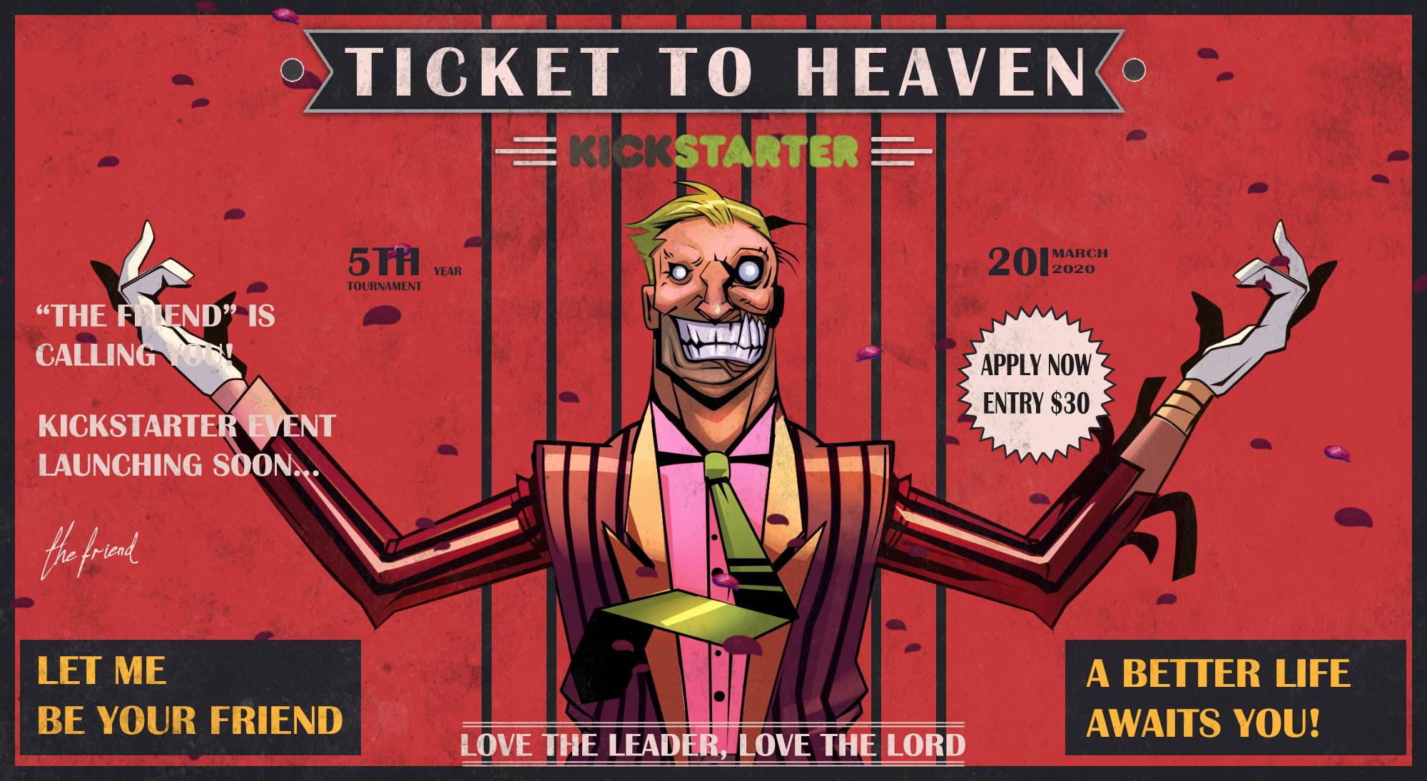 معرفی بازی ایرانی Ticket to Heaven با هممکاری استدیوی خارجی The Handmade Interactive