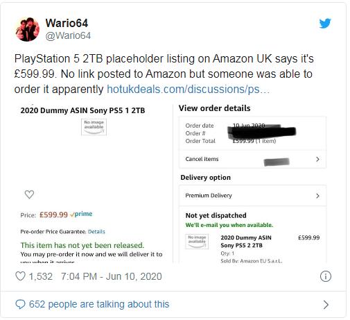 صفحه فروش PlayStation 5 همراه با عناوینی از ناشران مطرح در Amazon دیده شد