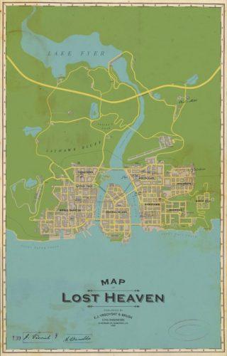 از نقشه و برخی از تغییرات اعمال شده در درون عنوان Mafia: Definitive Edition رونمایی شد