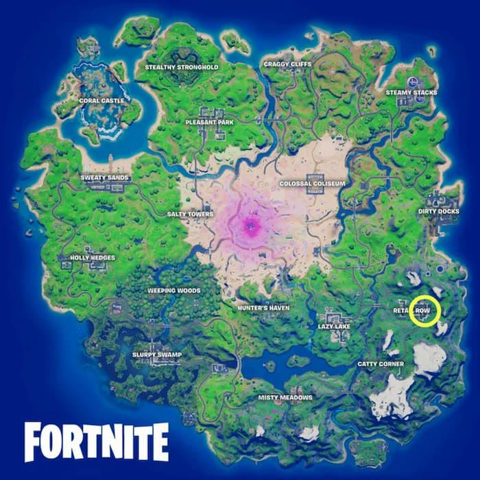 مکان دقیق مجسمه Nutcracker روی نقشه بازی